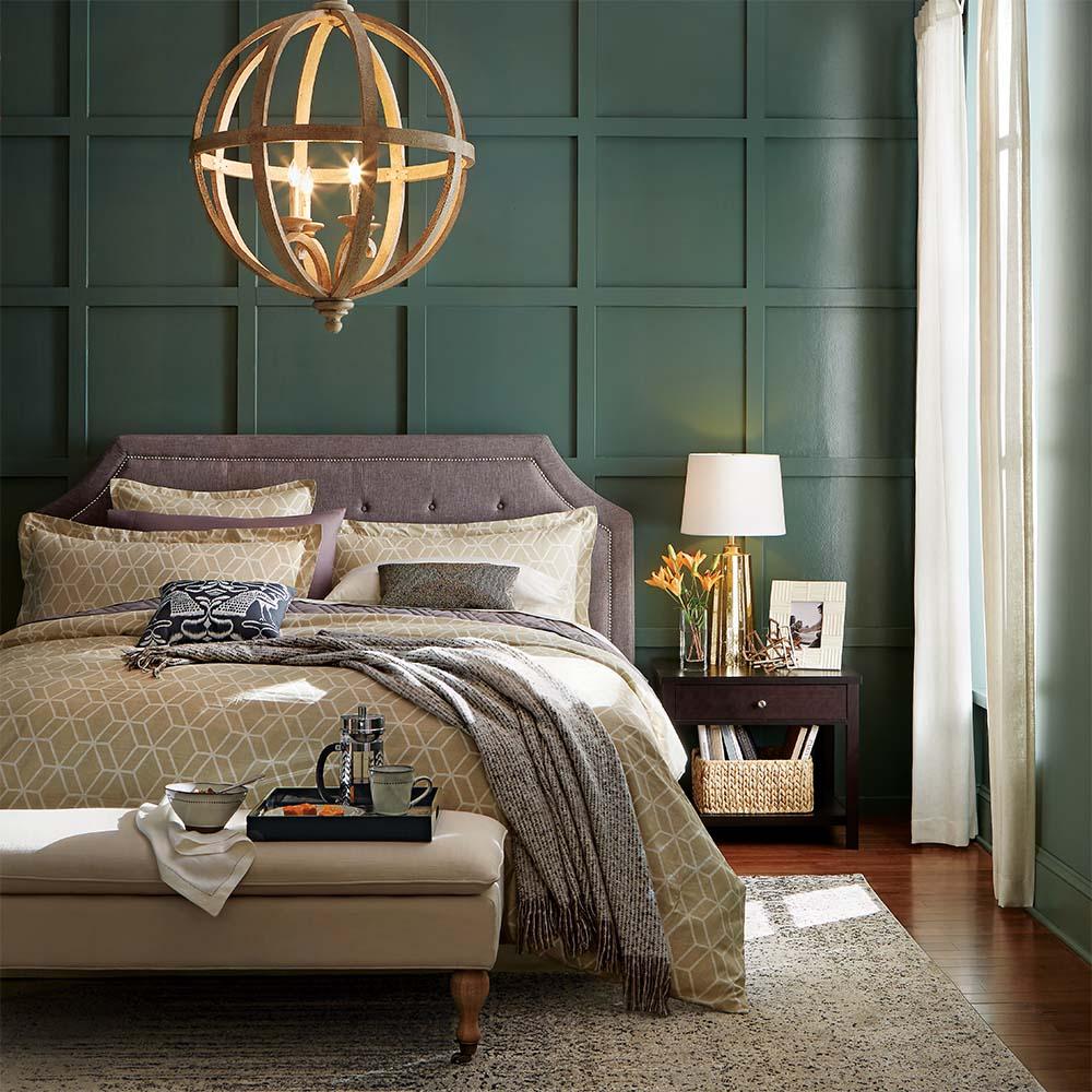 Спальня в стиле фьюжн