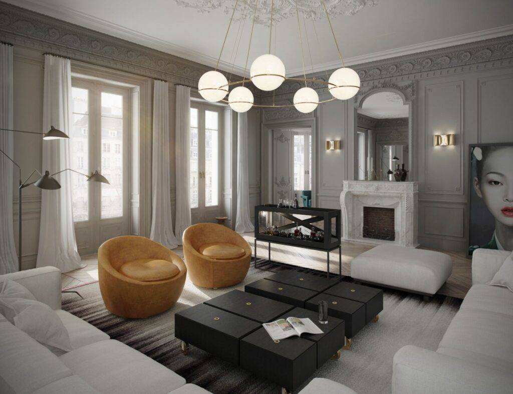 интерьер дизайн гостиной