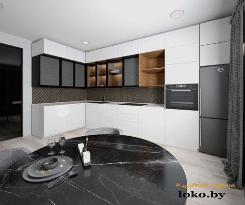 дизайн интерьер кухни