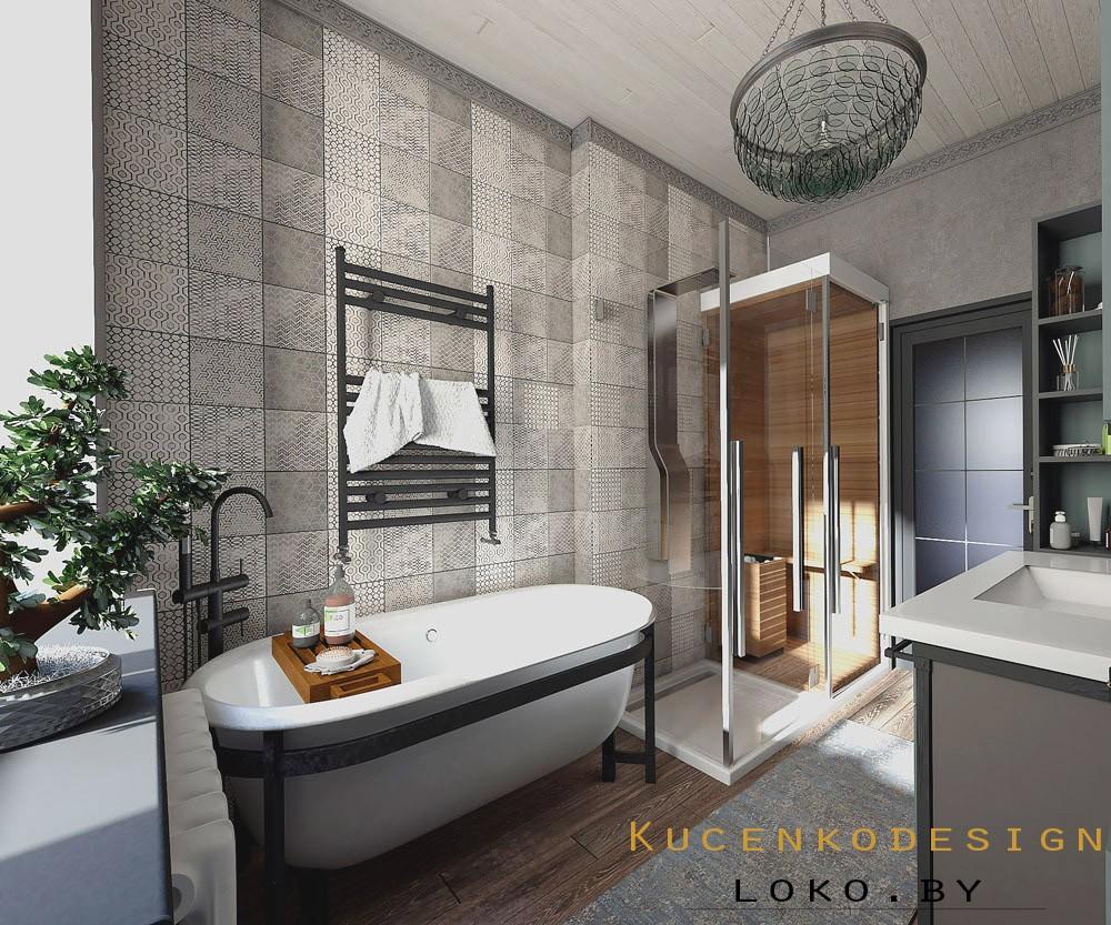 ванная дизайн дом