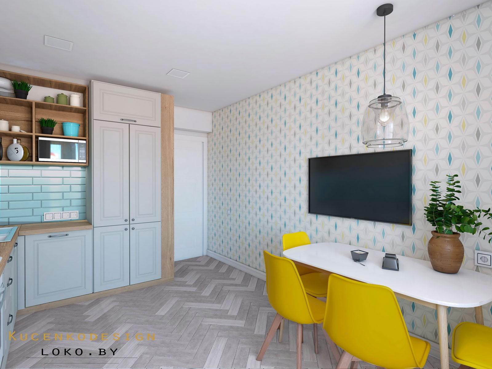 интерьер квартира кухня