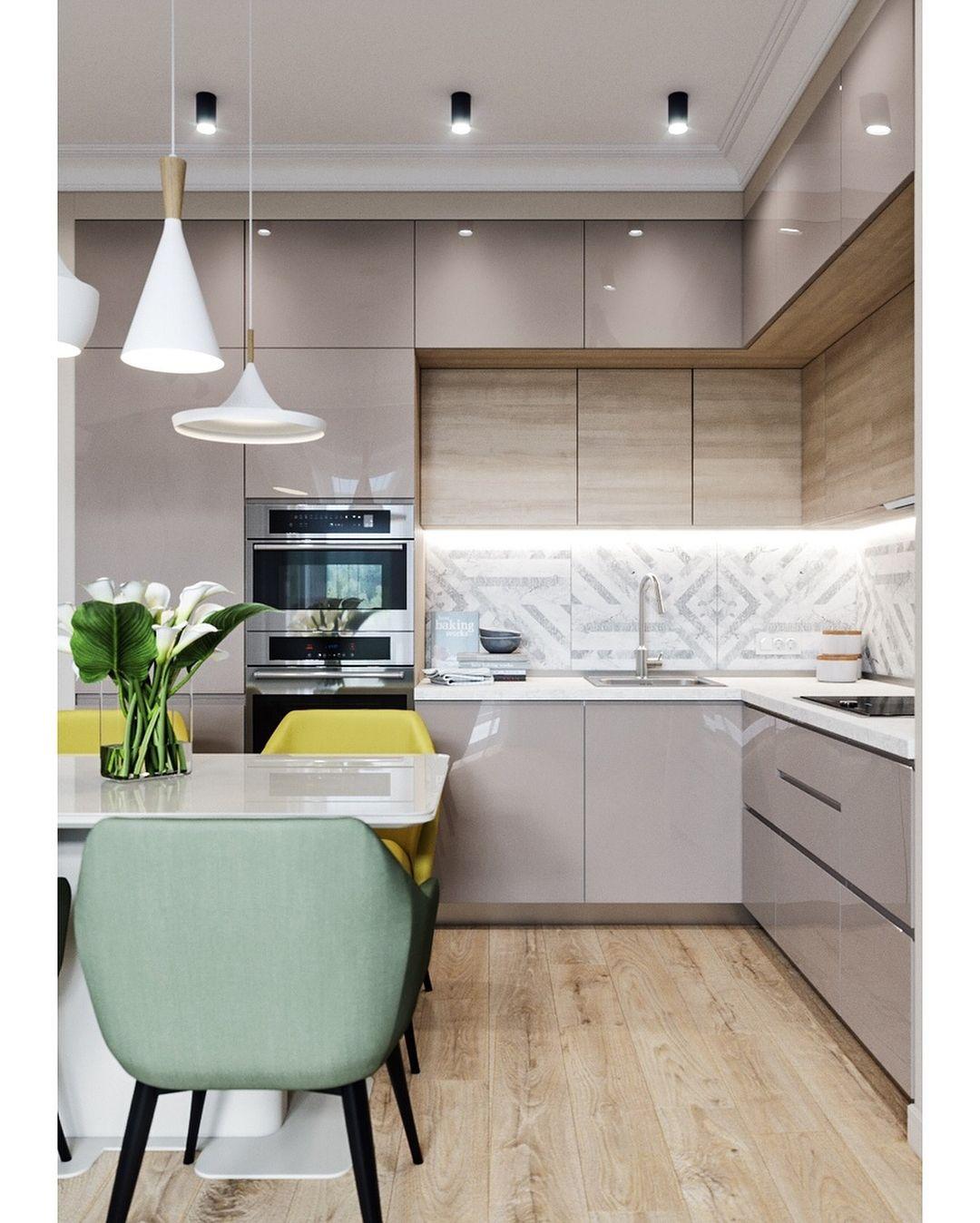 дизайн кухня интерьер