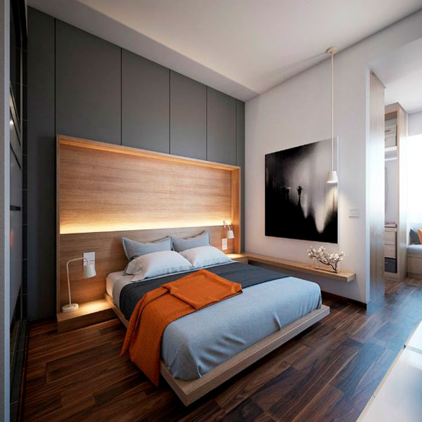 интерьер спальня фото