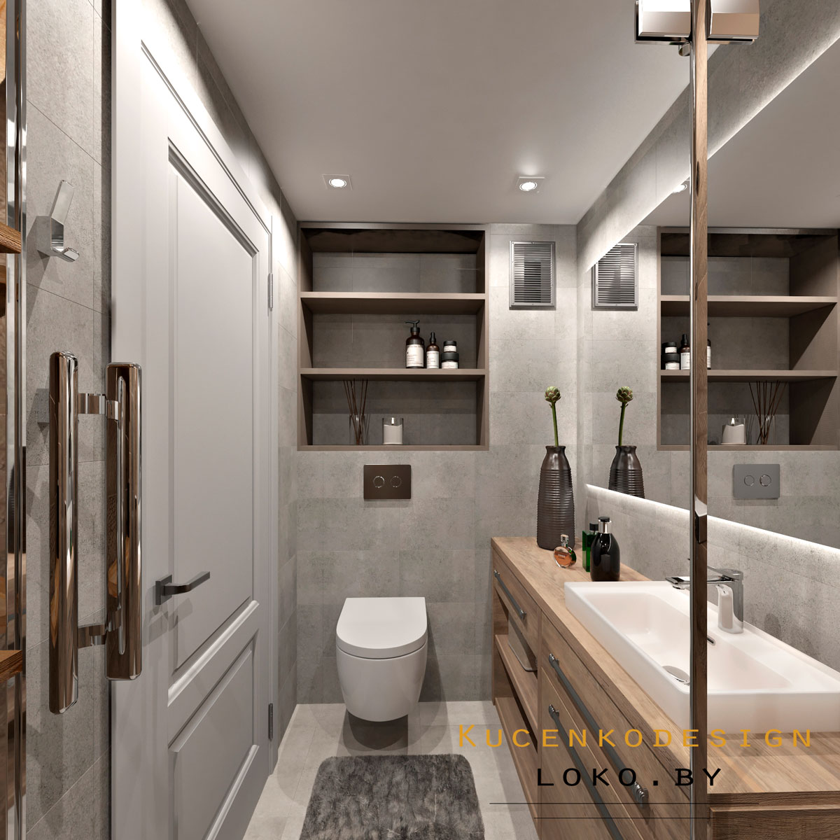 дизайн интерьер ванная
