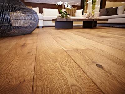 деревянный пол в интерьере